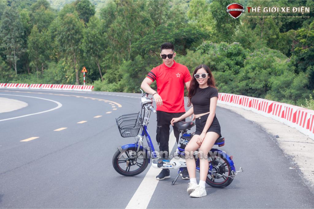 Xe đạp điện JVC Q7